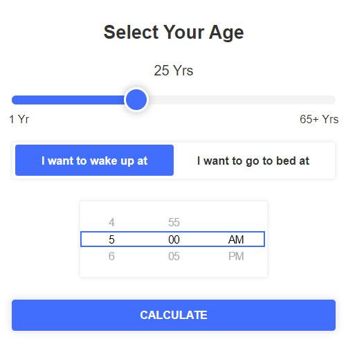 Sleep Calculator App